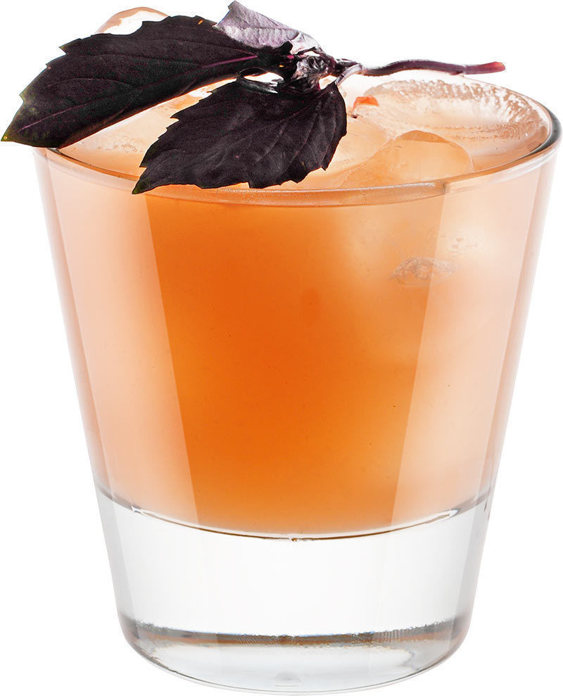 Comment préparer le cocktail Smash basilic hollandais